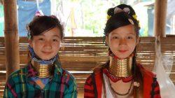 Jumelles Padaung