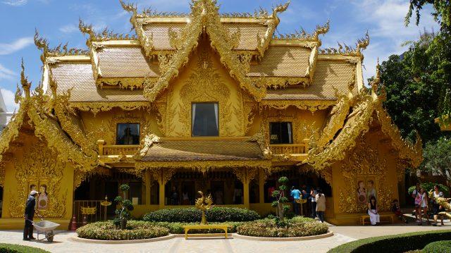 Les toilettes au temple blanc - Chiang Rai